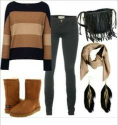 Chestnut Uggs Outfits