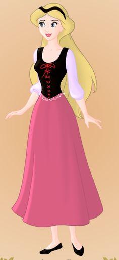 Eilonwy, the forgotten Disney princess from the Black Cauldron. X