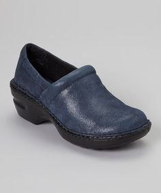 Love this b.o.c Ottanio Leather Metallic Peggy Shoe by b.o.c on #zulily! #zulilyfinds