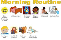 Chipper Crafts: Morning Routine Book for Back-to-School!