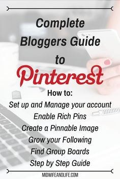 Ever wondered how bloggers get their content on pinterest? Pinnable image? Rich Pins? All this and more in my comprehensive guide to pinterest for bloggers