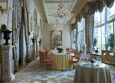 Dinning at L'Espadon Restaurant, Hotel Ritz Paris