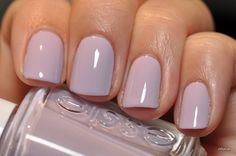 Spaz & Squee: Reswatch: Essie Marshmallow and St Lucia Lilac