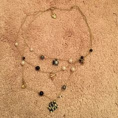 Brand-new Betsey Johnson travel necklace! Brand-new never worn Betsey Johnson travel necklace! This necklace is absolutely adorable! Some of the charms include luggage, an airplane, a camera, two dresses and cute beads! Betsey Johnson Jewelry Necklaces