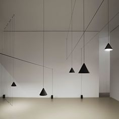 Michael Anastassiades, String Light at  #Lightopia #Design Museum Ghent. In addition to Lightopia they present Lightline: All objects are inspired by a simple line. An architectural line, hard and strong or soft as a shadow.   Lamptwist.be