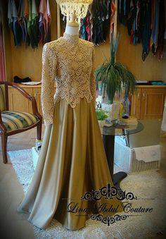 Kebaya muslim Kebaya Dress, I Dress, Lace Dress, Dress Brokat, Lace Bodice, Muslim Wedding Dresses, Designer Wedding Dresses, Prom Dresses, Kebaya Muslim
