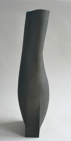 Ashraf Hanna Ceramics & Glass - Dark mulbery form