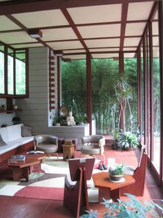 FRANK LLOYD WRIGHT  |  Louis Penfield House, 1953, Willoughby Hills (Cleveland), Ohio