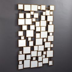 Facets Square Wall Mirror
