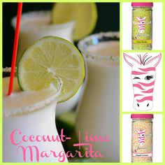 Put a Lime in the Coconut... and simmer it up Pink Zebra Style! Lime Slushie + Island Coconut #NationalMargaritaDay