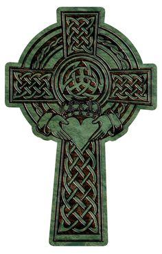 Celtic Cross with claddagh maori tattoos - maori tattoos women - maori tattoos men - maori tattoos s Celtic Symbols, Celtic Art, Celtic Crosses, Sacred Symbols, Celtic Knots, Celtic Cross Tattoos, 1 Tattoo, Norse Tattoo, Chest Tattoo