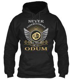 ODUM - Never Underestimate #Odum