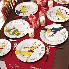 58 Best Painting Christmas Plates Images Christmas