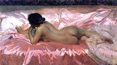 Mi artista español favorito!! Joaquin Sorolla y Bastida - Nude Woman, 1902