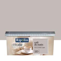 Peinture Gris Lumière RIPOLIN Attitude Café Du Matin 2.5 L