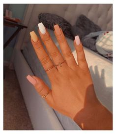 Some of my very most FAQs have to do with my nails! At any time I get my nails done I get tons and also lots of DMs regarding it. What did you do for you nails? Teal Nails, Aycrlic Nails, Coffin Nails, Pastel Nails, Manicures, Glitter Nails, Stiletto Nails, Nail Pink, Neutral Nails