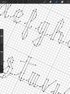 10 best Faux Calligraphy Alphabet images on Pinterest
