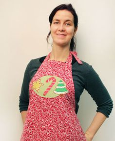 Free project instructions to make a kitchen apron