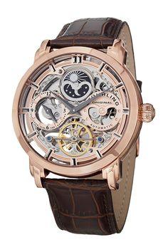 Elite Anatol Skeleton Watch