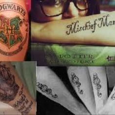 Potter tattoos