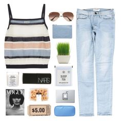 """TOP SET: NOSTALGIA"" by itssloanexoxo ❤ liked on Polyvore featuring SUNO New York, Frame, Maison Margiela, NARS Cosmetics, Miss Selfridge, Ray-Ban, sloanestopsets and sloanessimples"