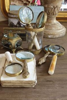 Magnifying Glass Collection - Vintage Magnifying Glasses, Brass Magnifying Glasses | Soft Surroundings