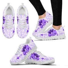 fb904e739bbb8 Womens Ladybug Runners - Breathable and Lightweight Running Shoes. Cute  Stride · Cute Pug Sneakers