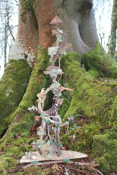 She collects the materials from her fairy garden and makes the fairy houses in her home on the Isle of Islay. Description from hannahtitania.com. I searched for this on bing.com/images