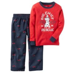 Boys 4-8 Carter's Big Red Chief Pajama Set