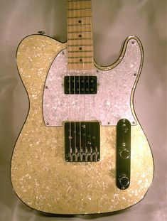 Dillion Guitars USA DPT100 Oyster Pearl