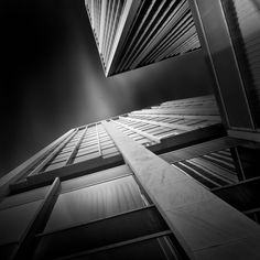Interview with architect and international award-winning photographer Julia Anna Gospodarou. View beautiful, b&w, long exposure architectural photography. Straight Photography, City Photography, Fine Art Photography, School Photography, Black And White City, White Art, Photography Essentials, Architecture Images, Shadow Architecture