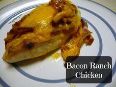 Bacon Ranch Chicken - Gigglebox Tells it Like it is - www.giggleboxblog.com