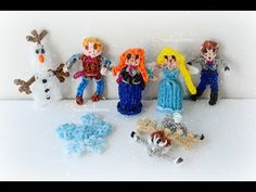 Rainbow Loom Disney Frozen Charms Collection! | Rainbow Loom Fans