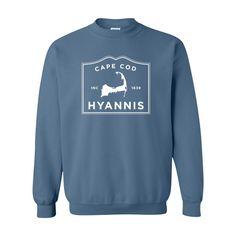 Hyannis Cape Cod Crewneck Sweatshirt