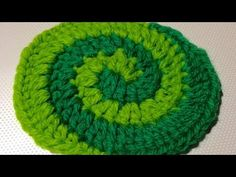 How To Crochet a Beautiful Two Color Spiral Pattern - DIY DIY Tutorial - Guidecentral - YouTube