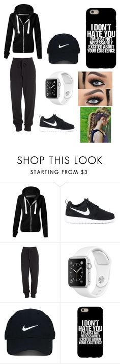 """""""Exercise outfit"""" by luvmeh25 ❤ liked on Polyvore featuring interior, interiors, interior design, home, home decor, interior decorating, NIKE, Donna Karan and Nike Golf"""