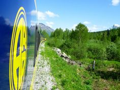Alaska Railroad's Denali Star  Your 7 1/2-hour trip to Denali National Park on this refurbished blue-and-yellow train begins in Anchorage.