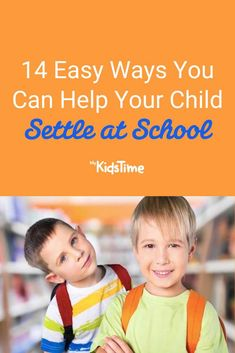 14 Easy Ways You Can Help Your Child Settle at School First Day Of School, School Days, Back To School, Good Parenting, Parenting Hacks, Poems About School, Fun Questions To Ask, Starting School, Meet The Teacher
