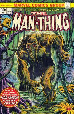 the man-thing #comics #70s