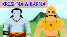 Krishna & Karna Stories - Short Stories from Mahabharata - Animated Stor...