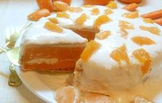 Cake-pie «orange blast»