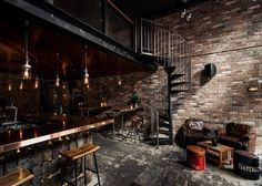 Rustic Atmospheric Bars - Donny's New York Style Loft Style is Dark and Deliciously Grungy (GALLERY)