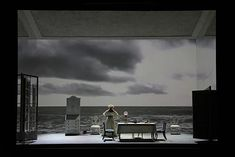 Lady from the Sea. Scottish Opera at the King's Theatre, Edinburgh. Set and costume design by Yannis Thavoris. 2012.