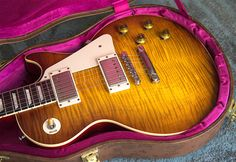 2016 (2014 Spec) Gibson 1959 Les Paul Standard Reissue in Iced Tea Burst