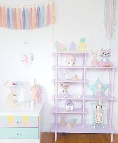 """Handmade Heart Shop on Instagram: """"Could this Pastel space be any more magical? (Answer: NO ) Decor inspiration from @avas.wonderland featuring our """"Lilly"""" Unicorn available from the shop! Shop will be closing for a short break from Monday July 4th, so if there's something you're after please make sure to purchase before this <3 @avas.wonderland • • • • • #handmade #unicorn #pastel #pasteloftheday #pastel_lover #interiorinspiration #decorinspiration #apartmenttherapy #mywestelm #UOhom"""