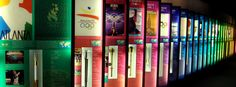 Largest collection of on-display Olympic Torches in the United States  Atlanta History Center  www.wanderlustATLANTA.com