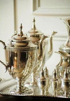 COFFEE AND TEA SERVICE......ZsaZsa Bellagio – Like No Other: At Home & Elegant