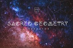 Sacred Geometry Generator by Professional Add-Ons on @creativemarket
