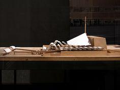 madrid opera house, competition model 1964.   from the 2008 utzon exhibition in palazzo franchetti, venice.  architect: jørn utzon, 1918-2008.  Photo Seier+Seier via Flickr