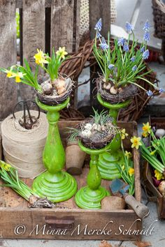 Blomsterverkstad: 6 idéer till helgens påskpyssel